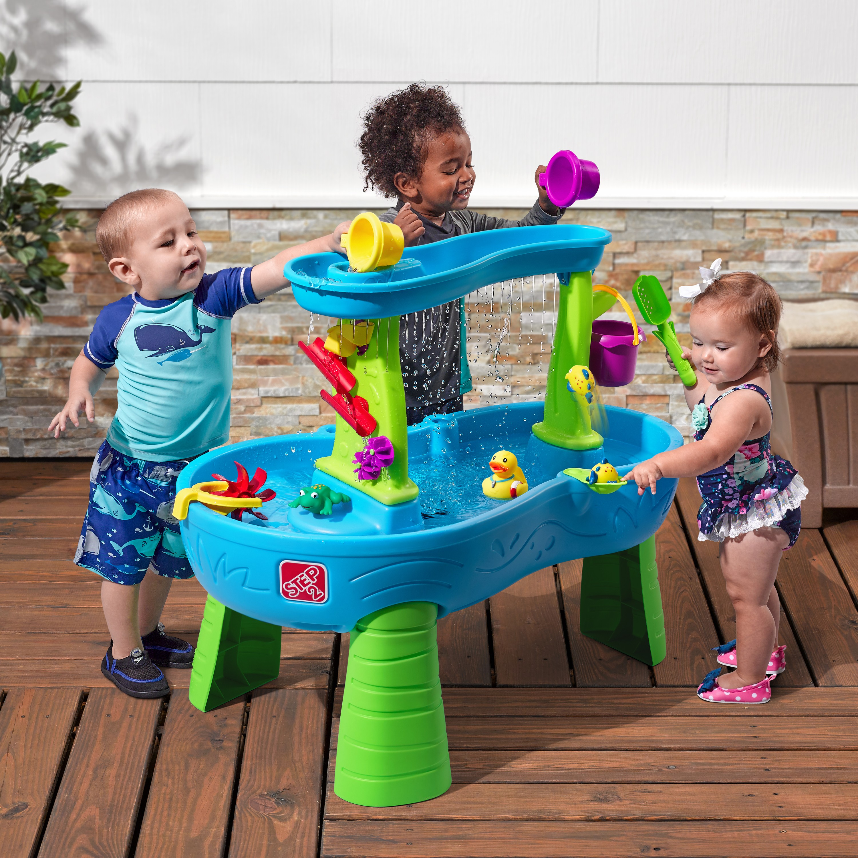 Rain Shower Splash Pond Water Table Pragma BV