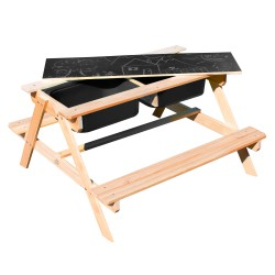 Dual Top 2.0 Sand & Water Picnic Table - Limited Edition