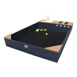 Kelly Sandbox with Play Kitchen Anthracite/brown