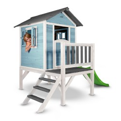 Playhouse Lodge XL (blue/white)