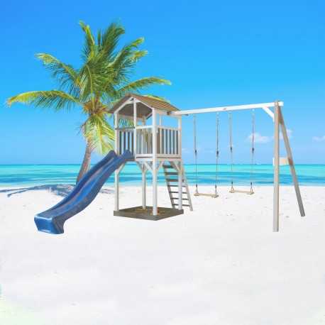 Beach Tower Double Swing