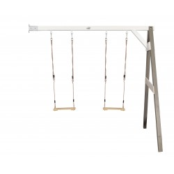 Double swing wall mount (grey/white)