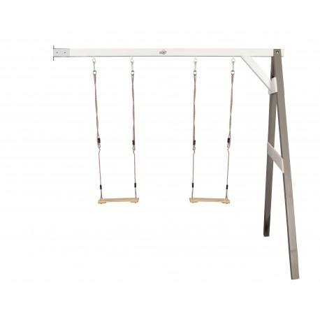 Double swing wall mount (grey/white)