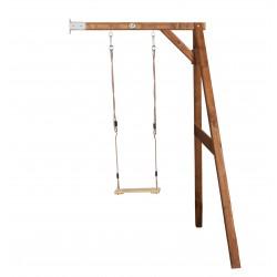 Single swing wall mount (brown)
