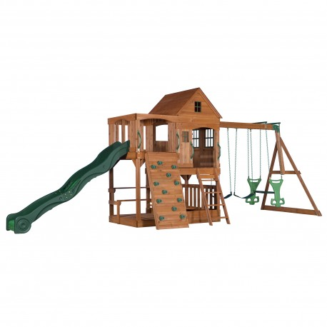 Hill Crest Play Tower incl. swings