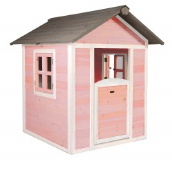 Speelhuis Lodge (roze/wit)