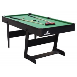Hustle L folding Pool Table