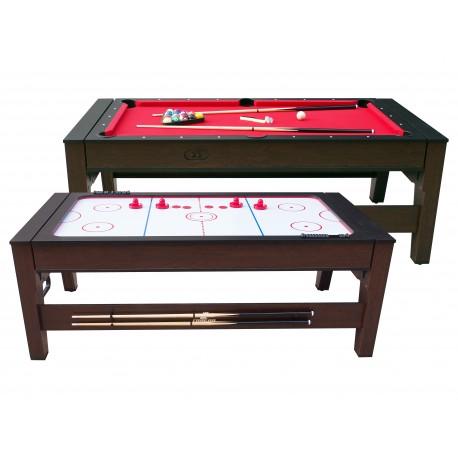 Reverso pool- en airhockeytafel