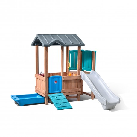 Woodland Adventure Playhouse & Slide