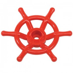 Boat wheel (red)