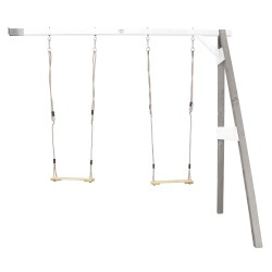 Double Swing Wall Mount Grey/white