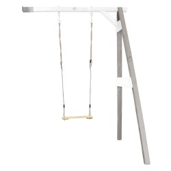 Single Swing Wall Mount Grey/white