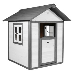 Playhouse Lodge (grey/white)