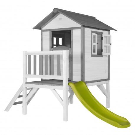 Speelhuis Lodge XL (grijs-wit)