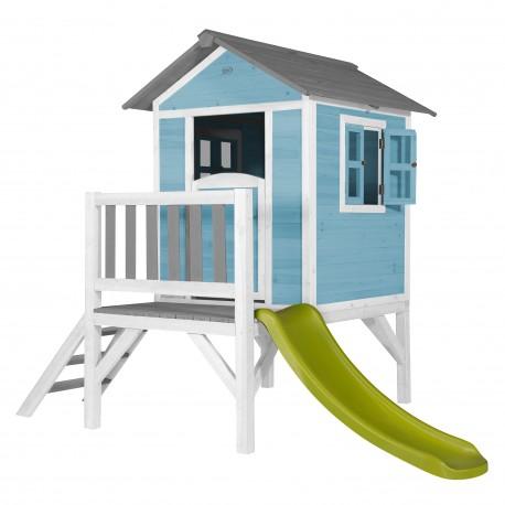 Playhouse Lodge XL (blue/white)
