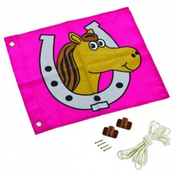 Flag with lift system (horse)