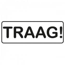 Victor Veilig - Sticker Traag