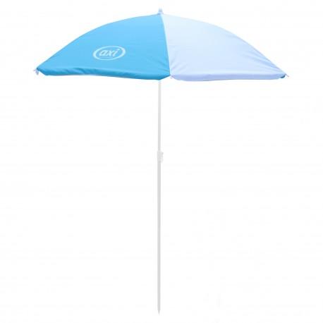 Parasol ⌀125 cm - Blauw/wit