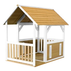 Forest Playhouse Brown/white