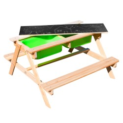 Dual Top 2.0 Sand & Water Picnic Table