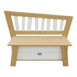 Storage Bench Corky Brown/white
