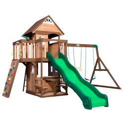 Mount Triumph Playtower with Swings and Slide