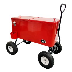 Beachwagon Cooler Red