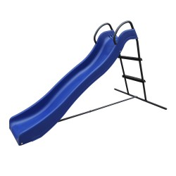 Freestanding Slide with water connection 180cm Blue/Anthracite