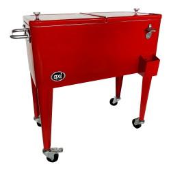 Retro Cooler Rood