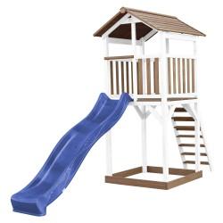 Beach Tower Brown/white - Blue Slide