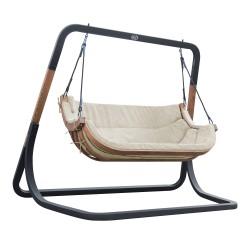 Ibiza Double Swing Chair Beige