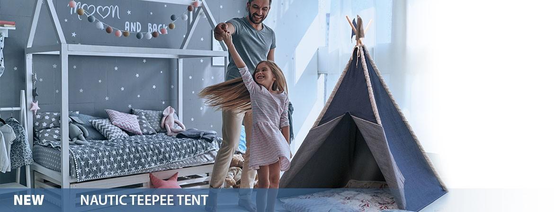 Nautic Teepee Tent